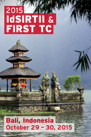 Bali 2015 IdSIRTII & FIRST Technical Colloquium