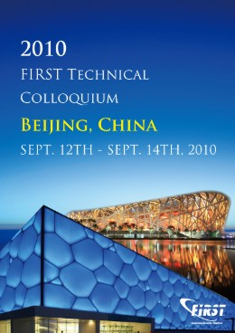 Beijing 2010 FIRST Technical Colloquium - Beijing, CN