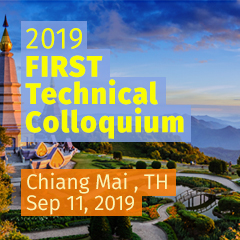 Chiang Mai 2019 FIRST Technical Colloquium, Thailand
