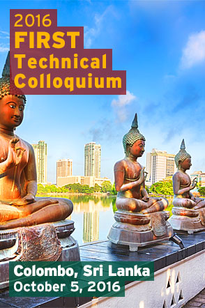 Colombo 2016 FIRST Technical Colloquium