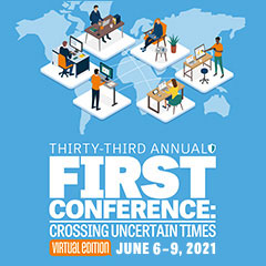 33rd Annual FIRST Conference - Virtual Edition - Save the Date