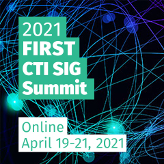 2021 FIRST Cyber Threat Intelligence Virtual Summit
