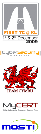 FIRST TC @ KL, Team Cymru, CyberSecurity, MyCERT, Mosti