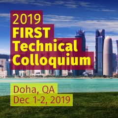 Doha 2019 FIRST Technical Colloquium, Qatar