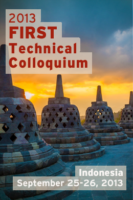 Indonesia 2013 FIRST Technical Colloquium