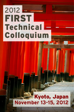 Kyoto 2012 FIRST Technical Colloquium