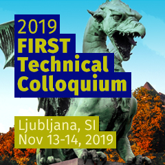 Ljubljana 2019 FIRST Technical Colloquium,  Slovenia