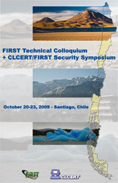 October 2009 FIRST Technical Colloquium - Santiago, CL