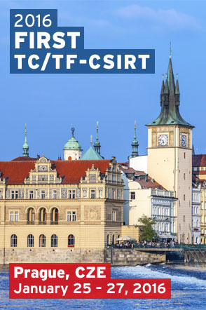 Prague 2016 FIRST TC with TF-CSIRT
