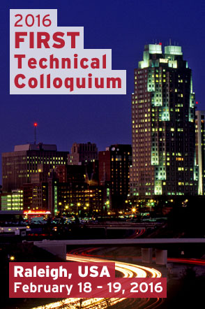 Raleigh 2016 FIRST Technical Colloquium