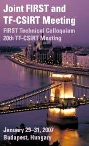 Joint FIRST and TF-CSIRT Meeting
