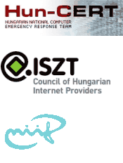 HUN-CERT, NIIF-CSIRT and the Council of Hungarian Internet Providers (ISZT)