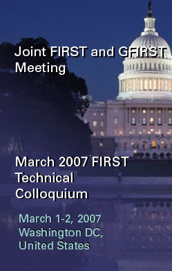 March 2007 FIRST Technical Colloquium
