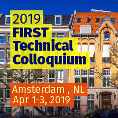 Amsterdam 2019 FIRST Technical Colloquium