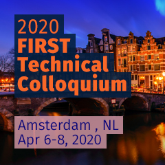 Amsterdam 2020 FIRST Technical Colloquium