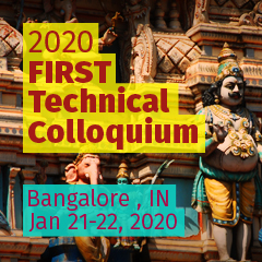 Bangalore 2020 FIRST Technical Colloquium, India
