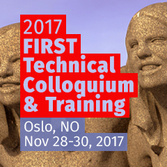 Oslo 2017 FIRST Technical Colloquium & Training
