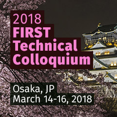 Osaka 2018 FIRST Technical Colloquium, Osaka, JP