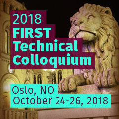 Oslo 2018 FIRST Technical Colloquium