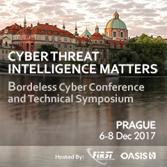 Cyber Threat Intelligence Matters - Borderless Cyber and Technical Symposium